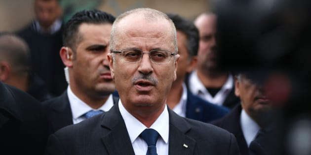 Il premier palestinese Rami Hamdallah