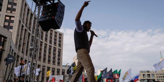 Russia, leader opposizione Navalny arrestato a manifestazione