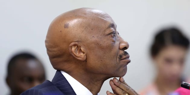 South African Revenue Services commissioner Tom Moyane.