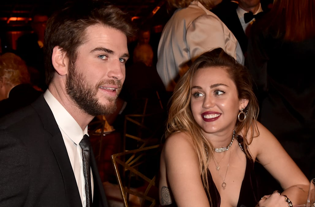 1a6b48eb6 Liam Hemsworth: I'm 'very lucky' to be married to Miley Cyrus - AOL ...