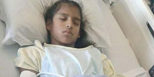 À peine opérée, une fillette sans-papiers arrêtée à l'hôpital par les autorités américaines pour être expulsée
