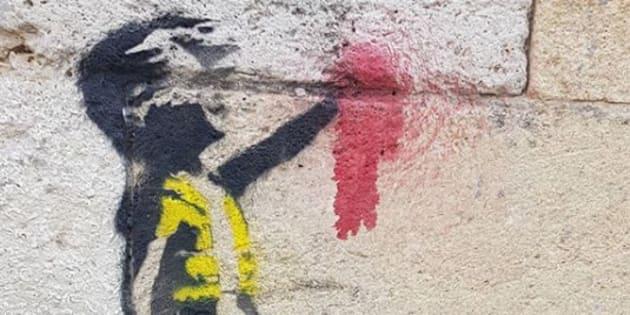 Banksy a-t-il habillé les murs de Bordeaux?