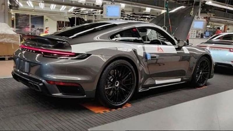 Porsche Fan Todd Schleicher Posted A Photo Of What Definitely Looks Like The Next Gen 911 Turbo Sitting On