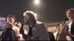 Grillo one man show: rappa nella festa notturna dei 5 stelle (di G.