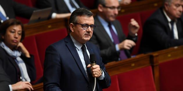 Yves Jégo à l'Assemblée nationale le 31 janvier 2018.