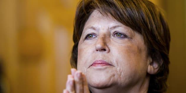 La maire de Lille et ancienne première secrétaire du Parti socialiste Martine Aubry.