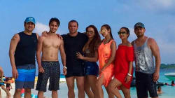 The Khans Are In Maldives To Bring In Baby Ahil's First Birthday And The Pictures Are