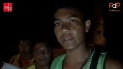 VIDEO: Rocían con insecticida a migrantes centroamericanos en Huixtla,