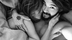 Heidi Klum partage une photo au lit avec Tom Kaulitz, son