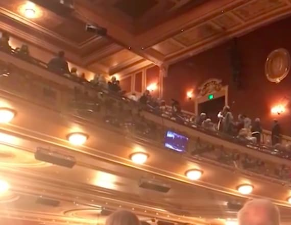 Man shouts 'Heil Trump' during 'Fiddler on the Roof'