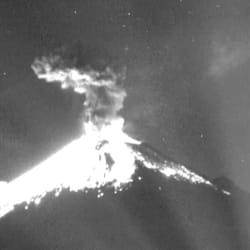 📹 El Popocatépetl registró explosión esta