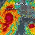 Willa se convierte en huracán en el Pacífico