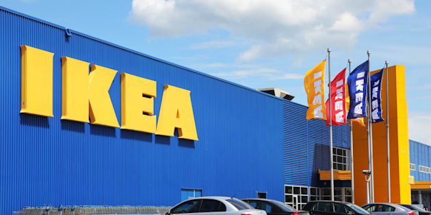 Una tienda de IKEA en Canadá.