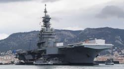 Le seul porte-avions français mis en cale sèche ce mercredi pour les 18 prochains