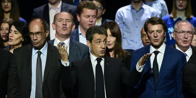 Nicolas Sarkozy au Zénith de Paris le 9 octobre 2016