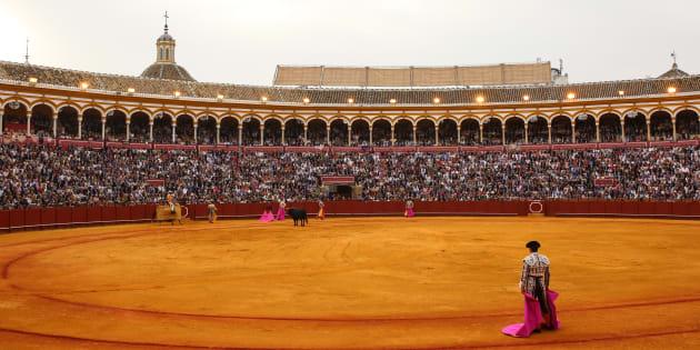 La Maestranza de Sevilla, durante una corrida de la pasada Feria de Abril.