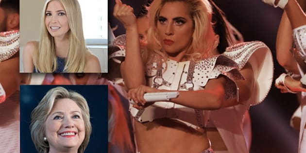 La performance de Lady Gaga au Super Bowl 2017 a séduit Ivanka Trump et Hillary Clinton.