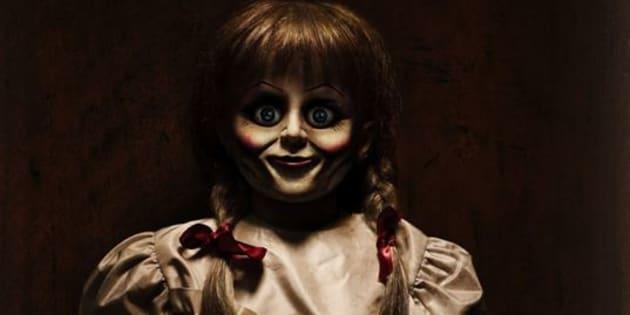 """L'affiche du film d'horreur """"Annabelle 2"""""""