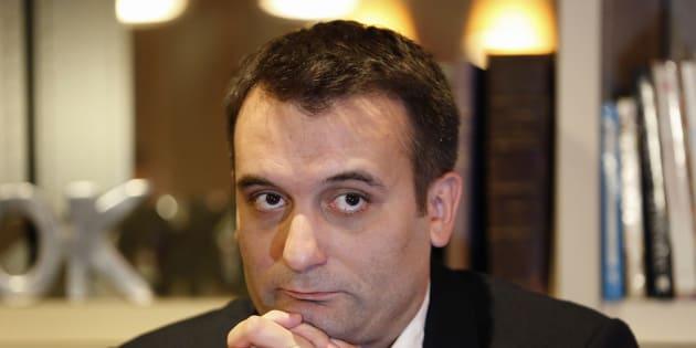 Florian Philippot a déposé deux plaintes pour des menaces de mort