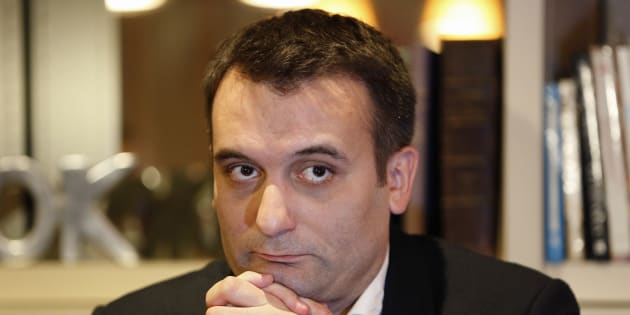 Florian Philippot en interview en novembre 2016.
