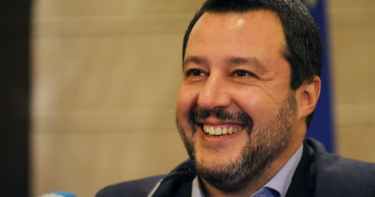 Matteo Salvini sta 'na favola