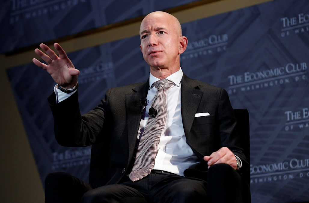 Image result for bezos bless""
