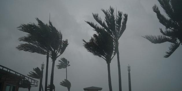 Furacão Irma chegou neste domingo (10) à Flórida, no sul dos Estados Unidos.