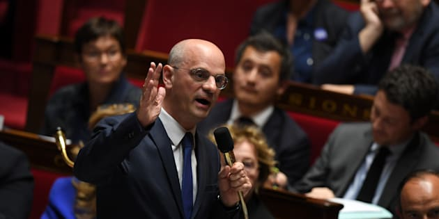 Jean-Michel Blanquer à l'Assemblée nationale le 8 novembre.