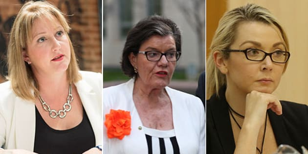 Rebekha Sharkie, Cath McGowan and Skye Kakoschke-Moore want to see a Minister for Youth.