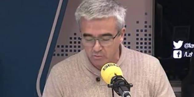 Francino lanza una dura protesta contra el maltrato que for Cadena ser francino