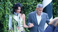 Amal Clooney n'est pas passée inaperçue avec cette robe