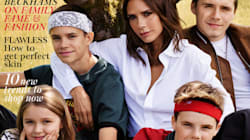 Victoria Beckham pose en famille (mais sans David) en couverture de