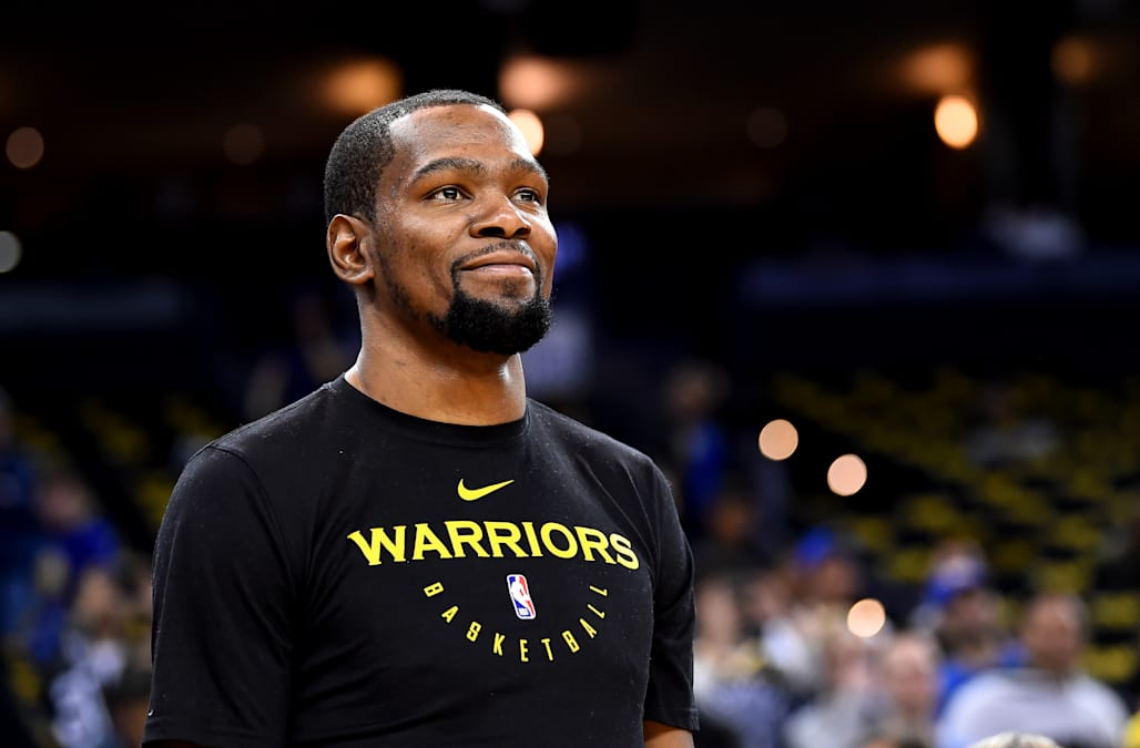 bb79dec3b37 Kevin Durant is sick of the Knicks rumors and finally breaks silence   I m  done!