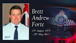 'You Were My Hero': Brett Forte's Family Deliver Emotional Tribute To Slain