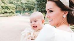 La famille royale déborde de joie sur les photos du baptême de