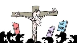 BLOG - Emmanuel Macron met-il une croix sur la