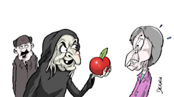 BLOG - Qui a jeté la pomme de la discorde entre la Grande-Bretagne et la