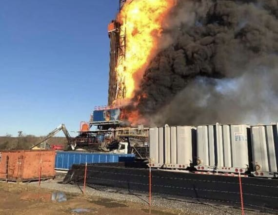 Officials: 5 missing in Okla. gas explosion