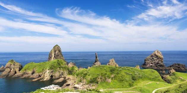 Japan, Shimane Prefecture, Oki District, View of Oki Islands (Photo by: JTB Photo/UIG via Getty Images)