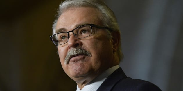 Tory MP Gerry Ritz speaks during a press conference in Ottawa on May 19, 2015.