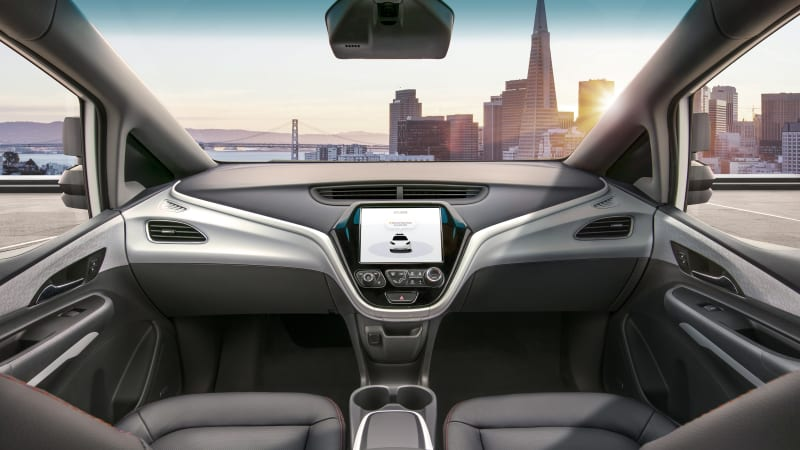 photo image GM Cruise AV plans autonomous car with no steering wheel or pedals