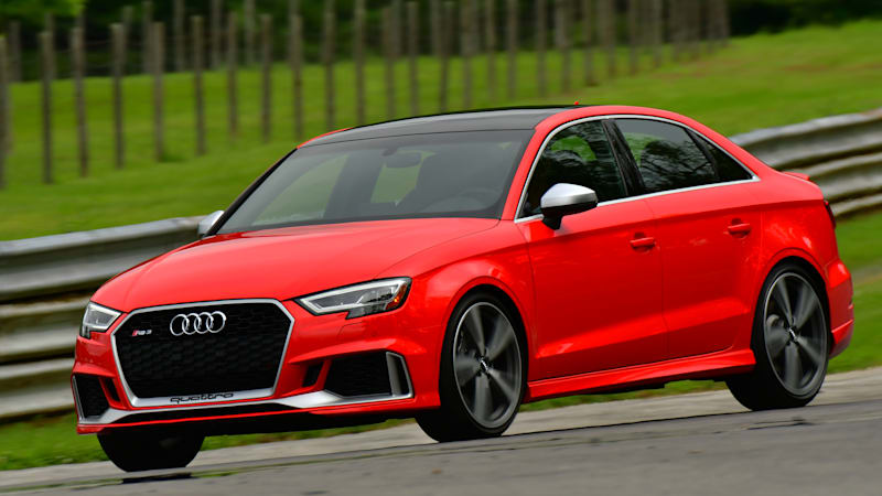 2018 Audi RS3 Drivers  Notes Review   Small wonder
