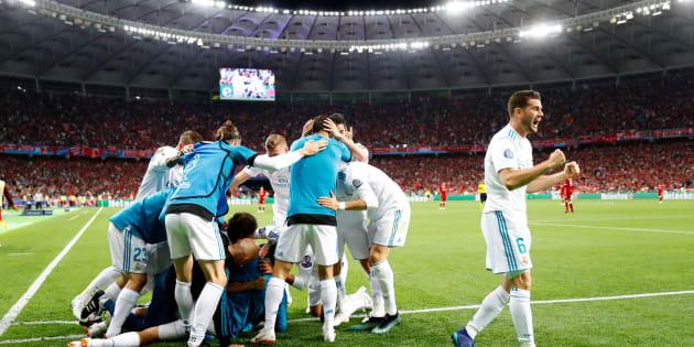 Final de la Liga de Campeones - Real Madrid - Liverpool - Estadio Olímpico NSC, Kiev, Ucrania.