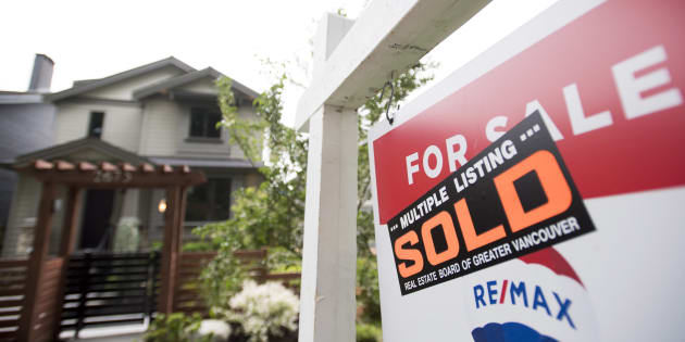 A real estate sign is pictured in Vancouver, B.C., Tues. June, 12. Canadian housing activity appears to be climbing out of its slump, but is still far from a rebound.