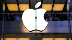 米アップル、時価総額1兆ドル超え 米企業で初めて