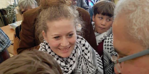 Symbole de la résistance palestinienne, Ahed Tamimi invitée à la Fête de l'Huma