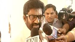 Shiv Sena Warns Of Protests In Parliament If Ravindra Gaikwad's Flying Ban Issue Not