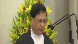 Justice Dipak Misra Sworn-In As 45th Chief Justice Of