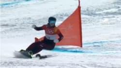 Aux JO d'hiver 2018, cet écureuil a donné des frissons aux spectateurs du slalom géant