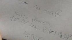 La respuesta de Correos a un niño que le escribió una carta a su padre en el cielo que te romperá el